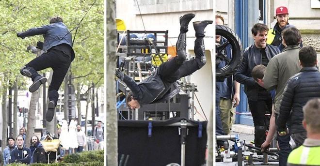 Tom Cruise du day, tong xe mao hiem trong 'Nhiem vu bat kha thi 6' hinh anh