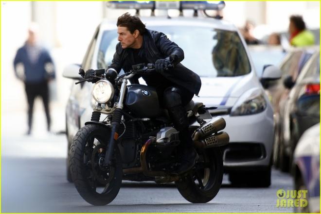 Tom Cruise du day, tong xe mao hiem trong 'Nhiem vu bat kha thi 6' hinh anh 2