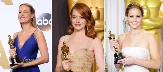 Brie Larson cam on Emma Stone va Jennifer Lawrence da 'cuu song' minh hinh anh