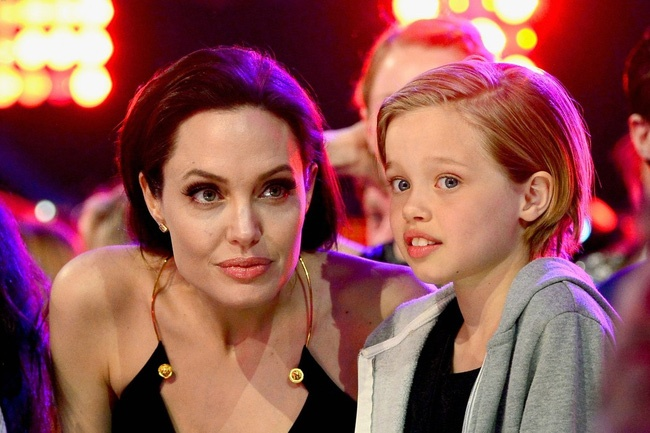 con gai Angelina Jolie Shiloh anh 4