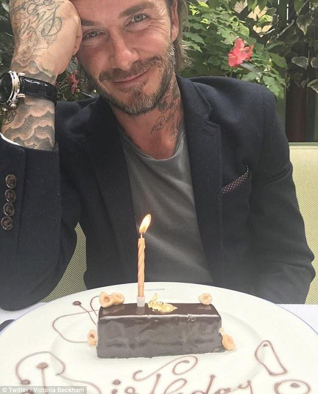 sinh nhat David Beckham 42 tuoi anh 1