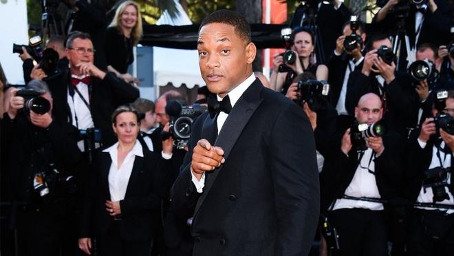 Will Smith vui cuoi hon ho khi lam giam khao Cannes 2017 hinh anh 1