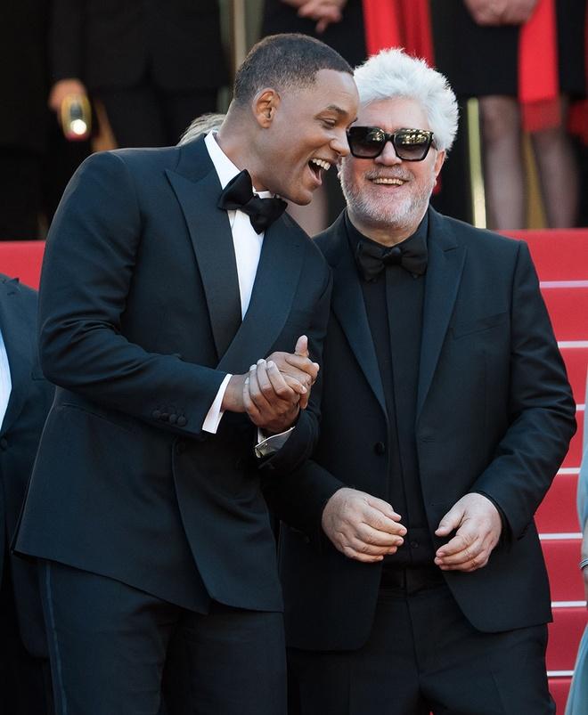 Will Smith vui cuoi hon ho khi lam giam khao Cannes 2017 hinh anh 5