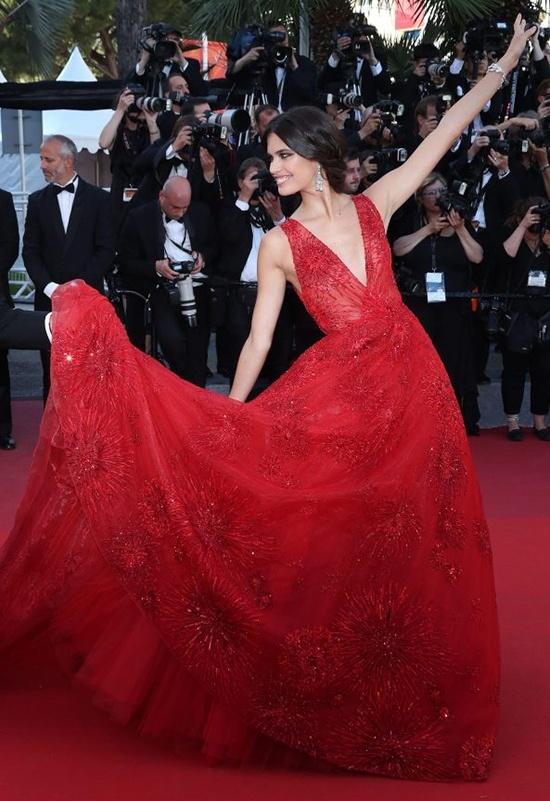 Khoanh khac vui nhon cua cac sao tren tham do Cannes 2017 hinh anh 8