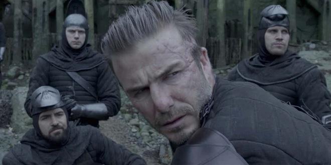 Sieu sao bong da David Beckham bi che toi ta khi dong phim hinh anh