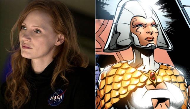 Jessica Chastain se dong phan dien trong 'X Men: Dark Phoenix'? hinh