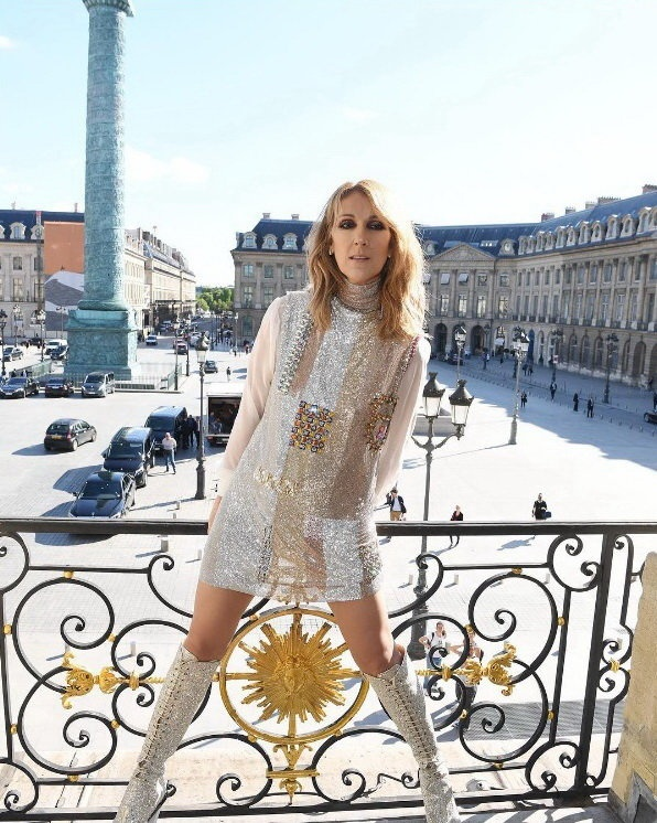 Celine Dion chup anh tao bao cho tap chi Vogue hinh anh 2