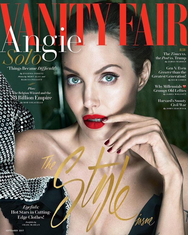 Angelina Jolie mac chung liet co mat hinh anh 1