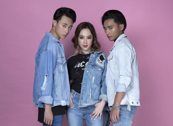 'Glee' he lo tinh tay ba Angela Phuong Trinh, Rocker Nguyen va Huu Vi hinh anh