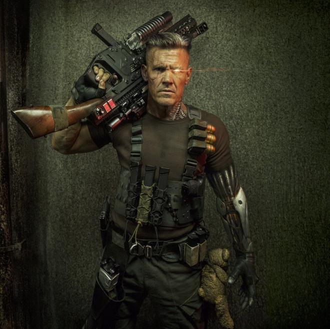 tao hinh cua Josh Brolin vai Cable anh 2