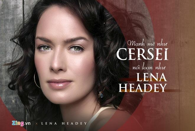 'Nu hoang Cersei'Lena Headey: Linh hon cua 'Game of Thrones' hinh anh