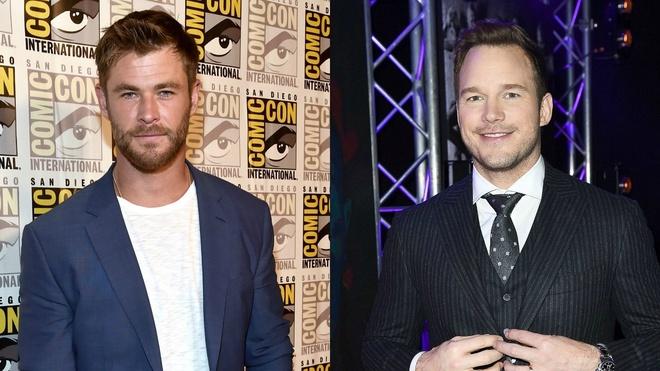 Chris Hemsworth va Chris Pratt anh 1