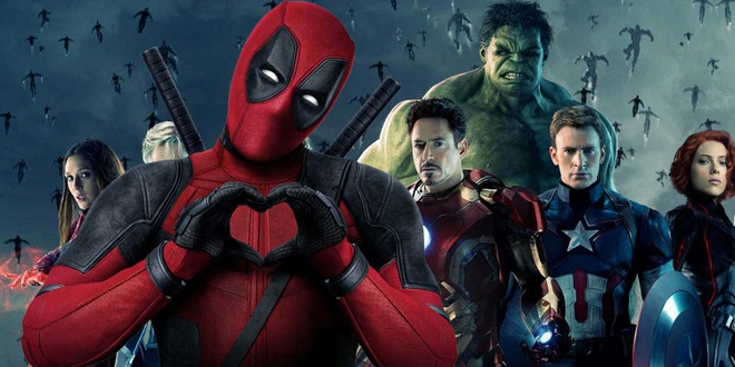Ryan Reynolds muon Deadpool va Avengers gap nhau trong phim moi hinh anh
