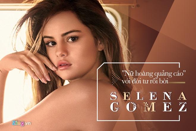 Selena Gomez: Dang sau anh hao quang la tram cam, benh tat hinh anh