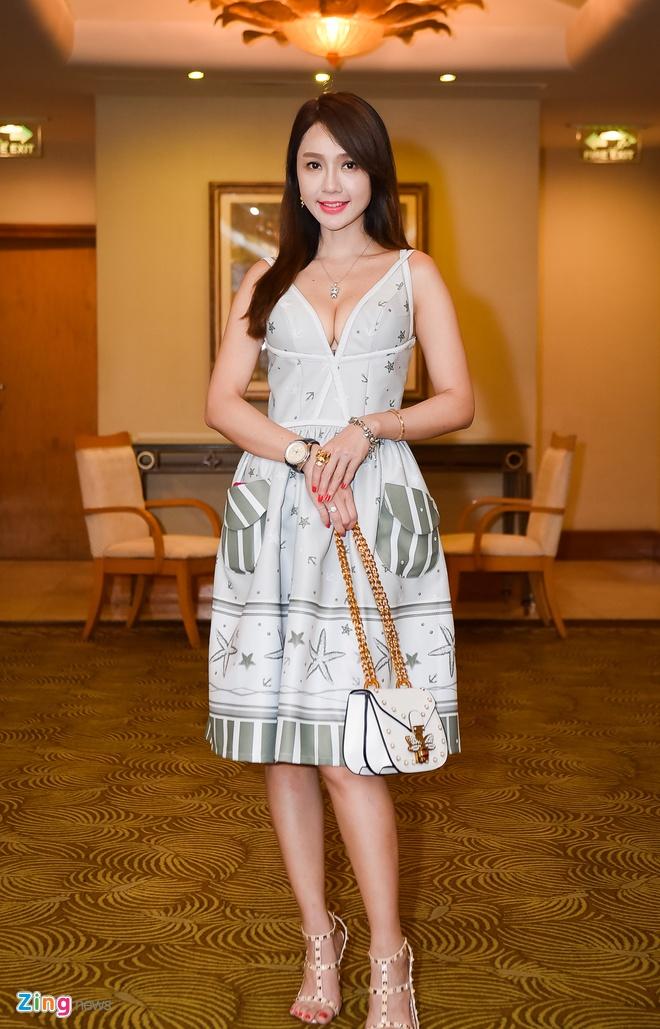 Helen Thanh Dao bat ngo du hop bao TV show cua Tran Thanh hinh anh 6