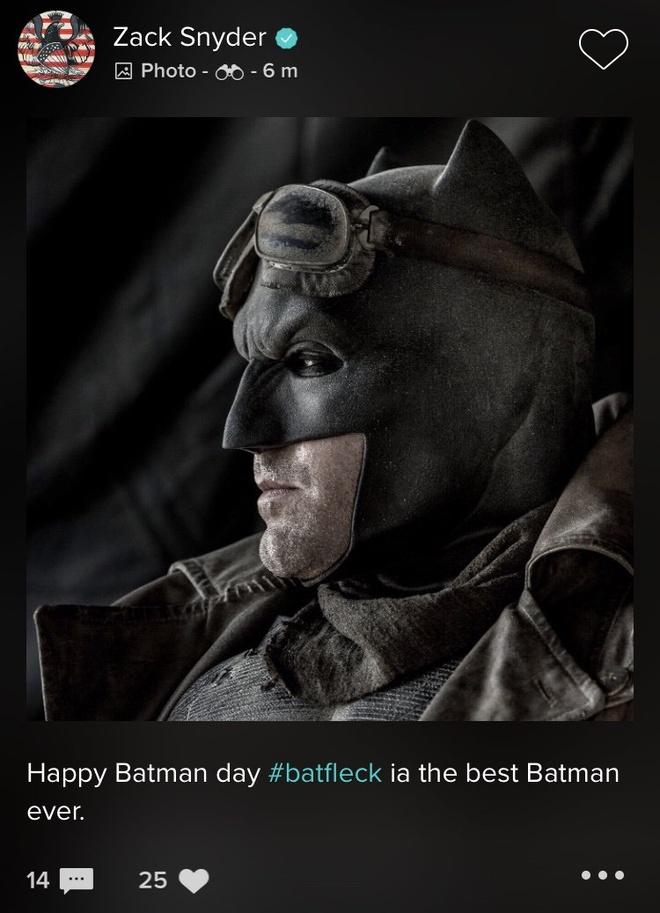 Dao dien Zack Snyder goi Ben Affleck la Batman xuat sac nhat hinh anh 2