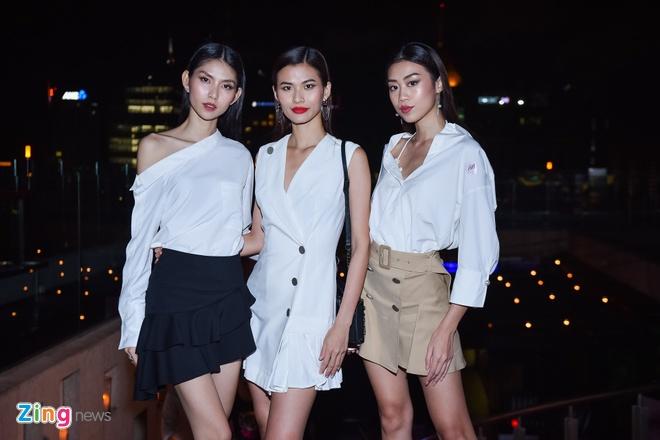 Team Sang Next Top do phong cach thoi trang voi Ky Duyen, Chau Bui hinh anh