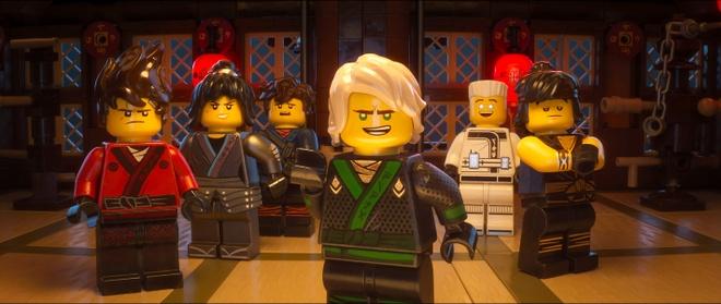 'The Lego Ninjago Movie' co doanh thu mo man khong nhu ky vong hinh anh