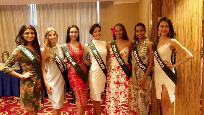 thoi trang quyen ru cua Ha Thu o Miss Earth 2017 anh 1