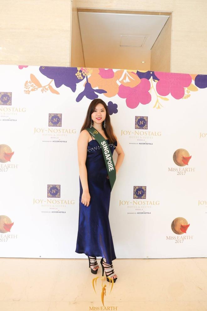 thoi trang quyen ru cua Ha Thu o Miss Earth 2017 anh 8