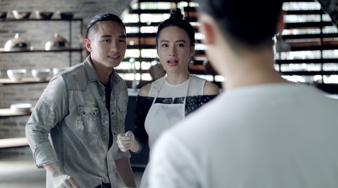 'Glee 9': Rocker Nguyen va Huu Vi danh nhau vi Angela Phuong Trinh hinh anh