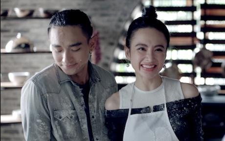Glee: Angela Phuong Trinh bat dau mui long truoc tinh cam cua Huu Vi hinh anh