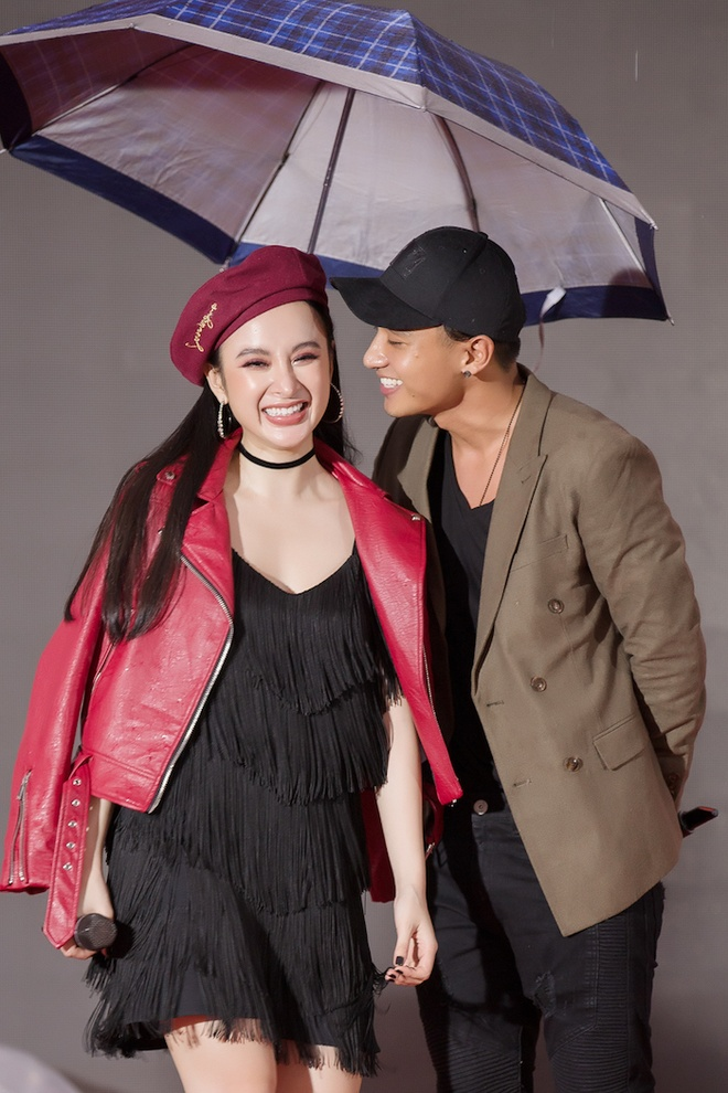 Angela Phuong Trinh hon Huu Vi anh 2