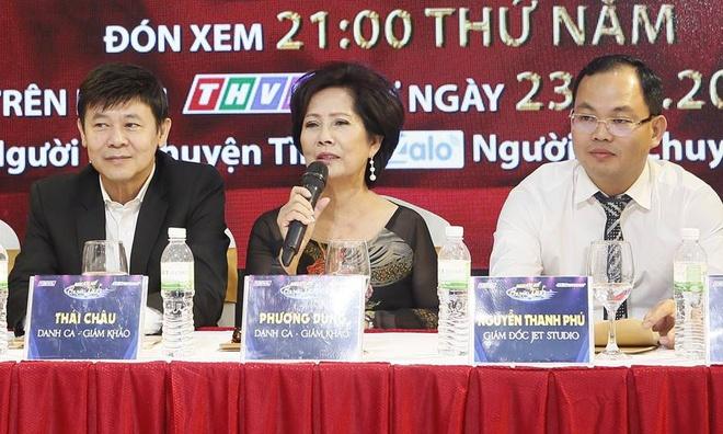 Danh ca Phuong Dung va Thai Chau lam giam khao game show moi hinh anh