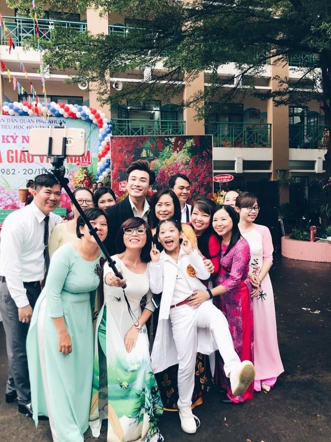My Tam, Hoa hau Ky Duyen chuc mung thay co ngay 20/11 hinh anh 5