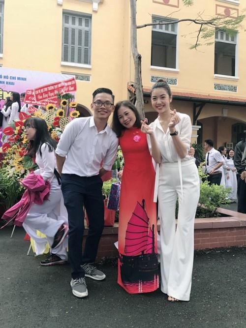 My Tam, Hoa hau Ky Duyen chuc mung thay co ngay 20/11 hinh anh 11