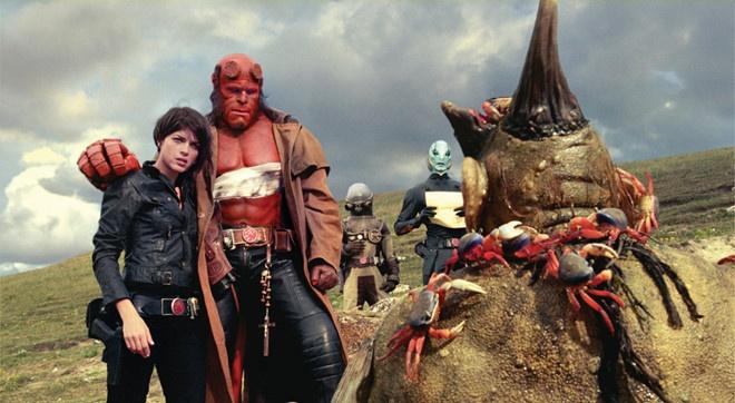 'Hellboy' phien ban lam lai an dinh ngay ra mat chinh thuc hinh anh