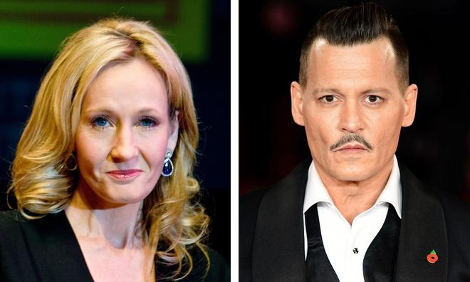 J.K. Rowling bao ve Johnny Depp anh 1
