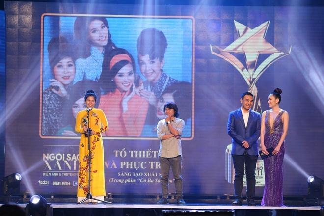 Huu Chau, Kaity Nguyen thang giai Ngoi sao xanh 2017 hinh anh 4