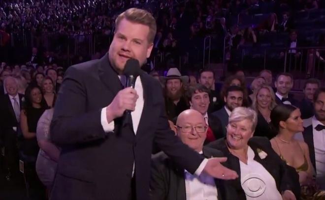 Dan sao vui ve khoe gia dinh o le trao giai Grammy 2018 hinh anh 8