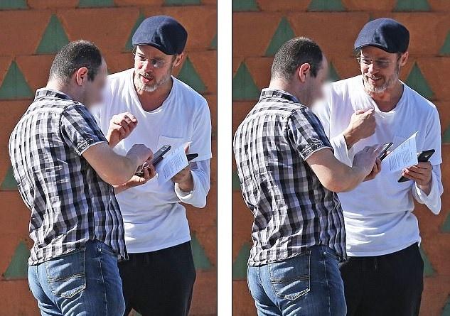 Brad Pitt hanh xu trach nhiem khi gay tai nan cho nguoi khac hinh anh
