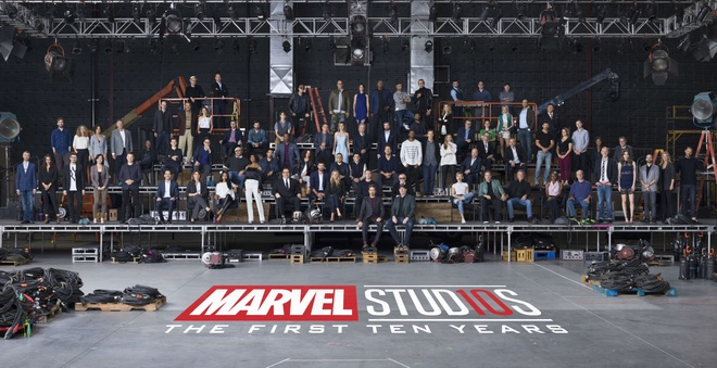 Video ky niem 10 nam Marvel Studios hinh anh