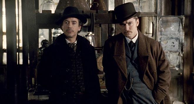 Robert Downey Jr dong Sherlock Holmes 3 anh 2