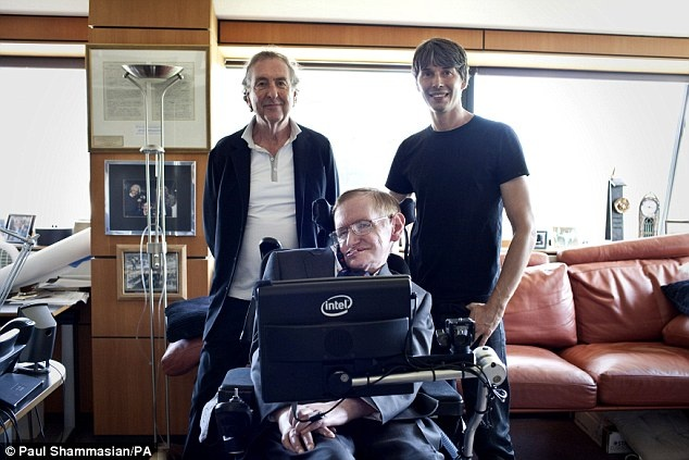 Khong chi len phim, Stephen Hawking con dem khoa hoc vao am nhac hinh anh 2