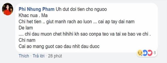 Khan gia len san khau doi tien boi thuong khi Phi Nhung dang hat hinh anh 2