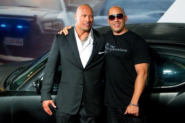 The Rock lan dau tien giai thich ve hiem khich voi Vin Diesel hinh anh 2