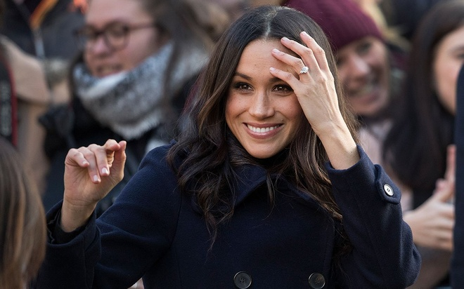 Meghan Markle tu biet nghe dien truoc khi thanh co dau Hoang gia Anh hinh anh