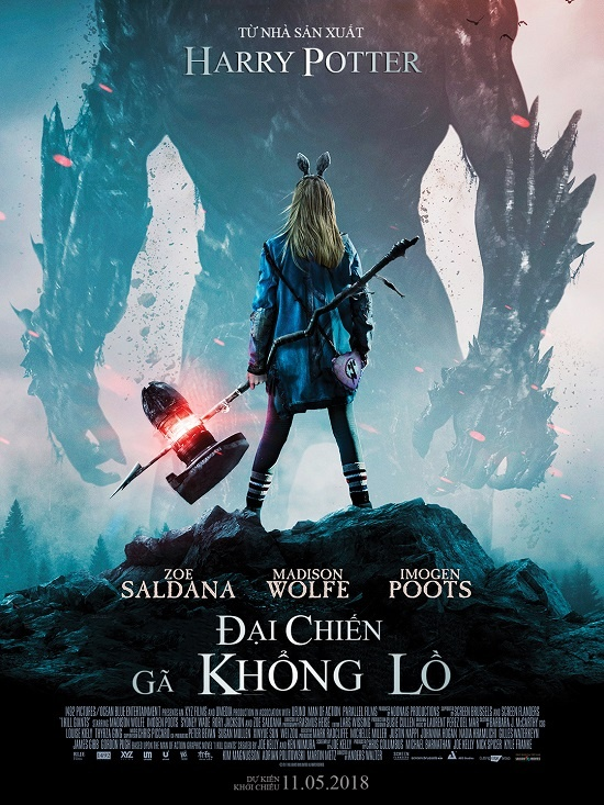Gamora cua 'Avengers' tai xuat trong phim dai chien voi ga khong lo hinh anh 2
