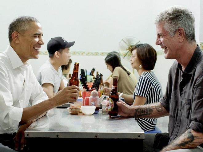 Dau bep an bun cha voi Obama: Nguoi nang tinh voi am thuc Viet Nam hinh anh 1