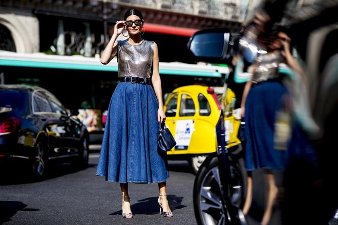 Nhung goi y street style hoan hao o tuan le thoi trang Haute Couture hinh anh 7