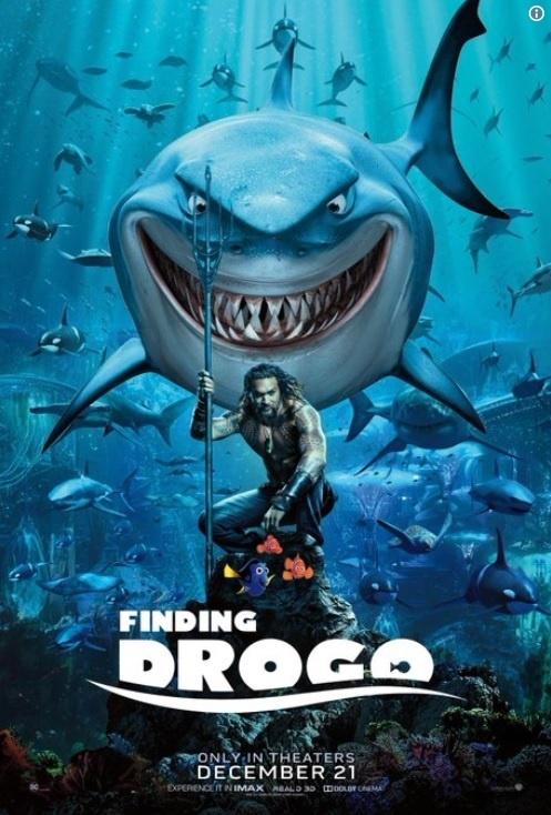 Poster chinh thuc 'Aquaman' bi fan che gieu vi giong 'Finding Nemo' hinh anh 2