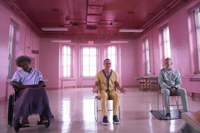 James McAvoy hoa quai vat trong phan lai giua 'Split' va 'Unbreakable' hinh anh