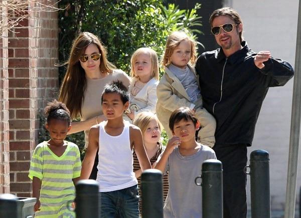 Tiet lo chi phi ton kem nuoi 6 con cua Brad Pitt va Angelina Jolie hinh anh 2