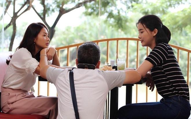 Hau truong 'Hau due mat troi': Kha Ngan khoe lung tran chay sam hinh anh 10
