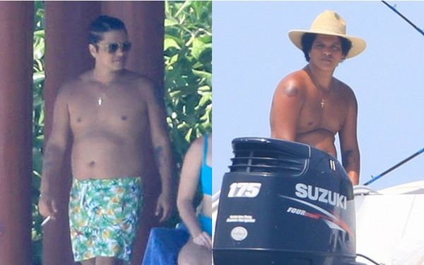 Bruno Mars gay soc khi lo than hinh beo, bung phe hinh anh