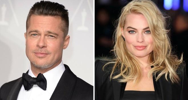 Brad Pitt bi chong 'qua bom sex' Margot Robbie dan mat hinh anh